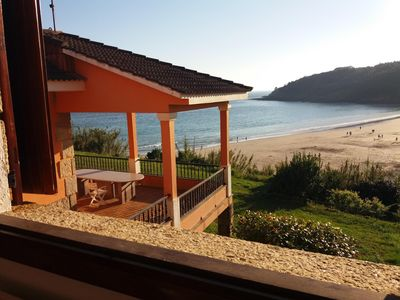 Photo for Villa in Canelas beach with direct access to the beach.