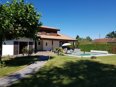 Photo for Detached house of standing with pool and large garden