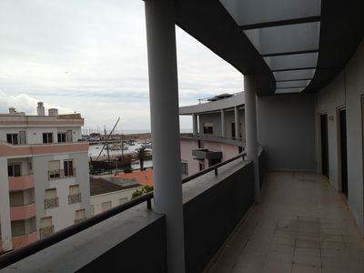 Photo for Appart of 2P, large terrace view / sea, near town center and beach, private park