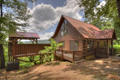 Sunset Ridge - Blue Ridge Cabin Rental With Amazing Mountain View