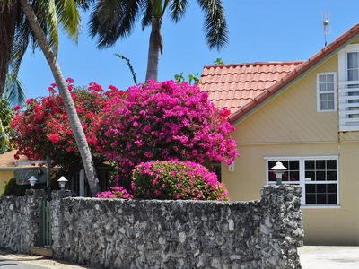 Photo for Small Family Groups & Weddings! Private Villa Behind Coral Wall w/ Ocean views!