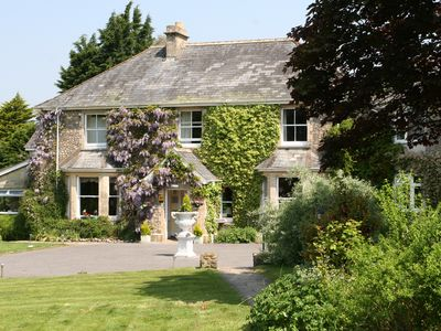 Photo for Secluded Devon Country House, Stunning Views, Suit Large Family Staycation 2020