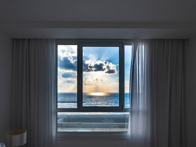 Photo for sea hotel-1 bedroom apartment with sea view on the tel aviv promenade
