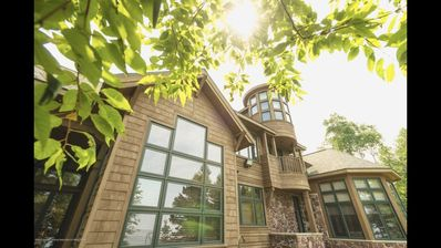 The Cubby Room:  Keweenaw Castle Resort on the Short of Lake Superior