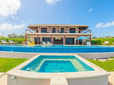Photo for Casa Gemelos is a Luxurious Oceanfront Vacation Home on the Southern End of Isla