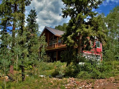 Photo for Secluded Home in the Woods just 2 Miles To Purgatory Ski Resort, Pet Friendly