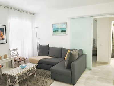 Living room apartment Reina de Bonaire