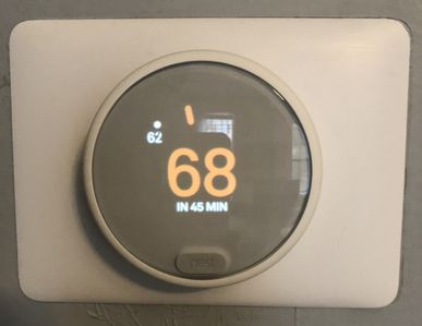 Climate is easily controlled with NEST.