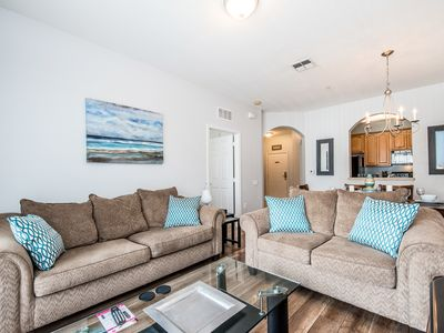 Photo for Luxury and comfort await in this 4th-floor condo with walkout balcony.