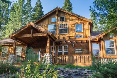 Edelweiss Tahoe features of mix of Cape Cod and Mountain Chalet inspirations