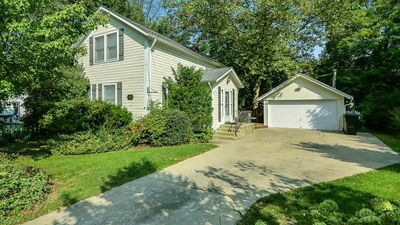 Sunnyside is a charming remodeled historic home in Saugatuck.