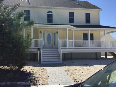Photo for Beautiful New Construction on Beach Block---5 Bedrooms, 4 Baths, 6 Beach Badges