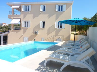 Photo for Lux Villa Laguna - Apartment 1, pool, 60m from the sea