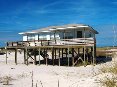 Photo for Zephyr Shores - Charming 2 Bedroom Gulf Front Home, Sleeps 6