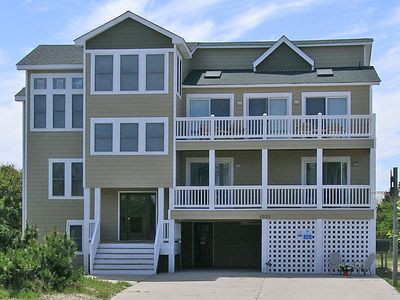 Photo for AWESOME Beach Getaway in Corolla NC, 800 feet to the ocean!