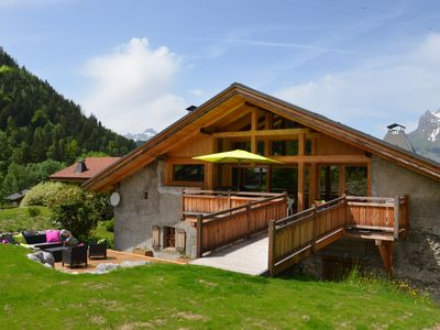 Photo for Luxury chalet, 6-10 p., 4 bedrooms, Wi-fi, 200m2