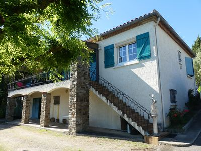 Photo for Villa near Carcassonne, with large enclosed garden and garage. Quiet .