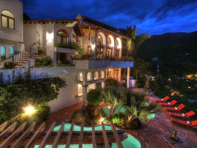 Photo for Ocean View Puerto Vallarta Villa Overlooking Mismaloya Beach
