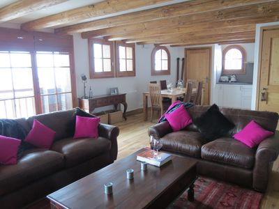 Photo for Luxury Apartment in St Martin de Belleville, Les 3 Vallees