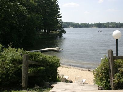 Photo for Quiet Romantic Lake Front One Bedroom Condo in the Exciting Wisconsin Dells