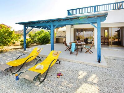 Photo for holiday home Mediteranean Coast View Villa, Argaka inklusive Mietwagen  in Um Paphos - 5 persons, 2 bedrooms