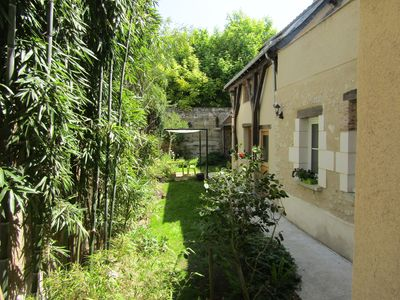 Photo for House with interior court, 2 to 4 beds, 2 steps from Amboise Castle.