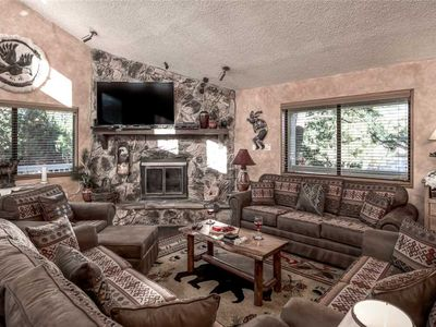 Photo for Naylor Mountain Retreat, 3 Bedroom, 3 Baths, Hot Tub, Sleeps 8, Game Table, AC, TV's
