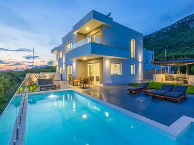 Photo for Luxurious Holiday Home in Grizane with Swimming Pool