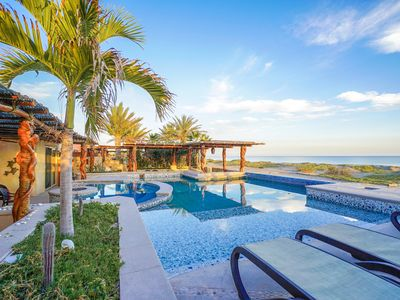 Photo for Beachfront with Private Pool at Golf Resort, Chef-Meals, Maid & Concierge Srvcs.