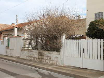 Photo for In the center of Valras and 200 meters from the beach, house with garden for 6 people Ref. 2968