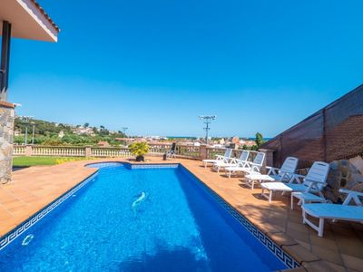 Photo for Club Villamar - Wonderful villa with barbecue and private pool, located in a nice and quiet urban...