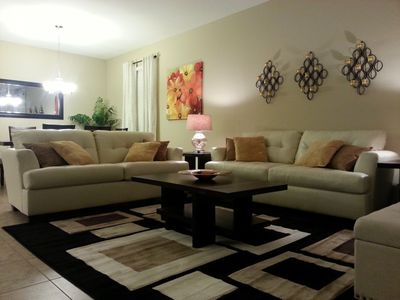 Photo for Modern 4 Bed / 2 Bath House - 10 min from Disney! Luxury and comfort