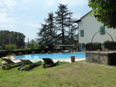 Photo for Large villa in Tuscany near Lucca with private pool
