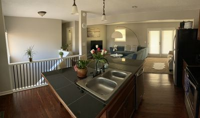 RELAXED CANCELLATION POLICY!!  Entire Main Floor 3BR/2BA/Kitchen/Washer & Dryer