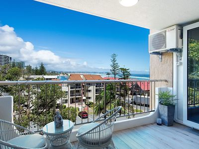Photo for Kirra Gardens 15 - Kirra Point Beachfront - 3 night stays!