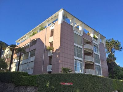 Photo for Apartment in the center of Minusio with Lift, Parking, Internet, Washing machine (46797)