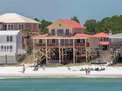 Photo for Dune Allen Delight - Gulf Front, 30A, Pet Friendly, Free Beach Service!
