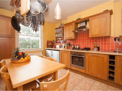Photo for Charming 2 bed property with beautiful wooden floors, North London (Veeve)