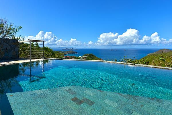 Best Island Beaches For Partying Mykonos St Barts: Perched High On Flamands Hil...