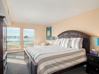 Photo for San Diego County Oceanfront 3 bedroom-heated pool/jacuzzi. Complex on the sand