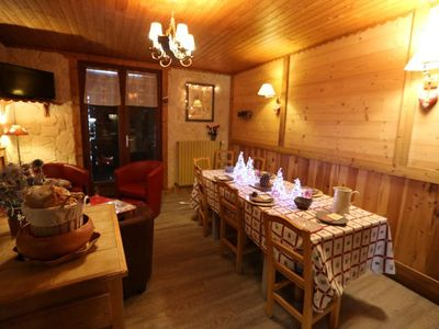 Photo for 4 rooms cabin 9 people 3* exposed South East