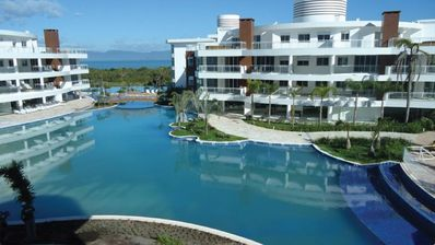 Photo for Piece of paradise: fit with 2 suites at the Marine Resort on the seafront!