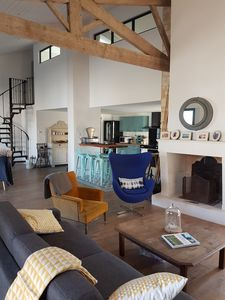 Photo for Large family home in an authentic fishing village - Ile d'Oleron