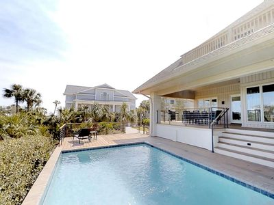 Photo for Amazing Ocean & Golf Course Views from 2nd Row Ocean. 2 Master Bedrooms - Ideal home for 2 families.