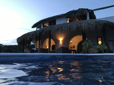 Photo for Private Cliffside Villa on the Oaxacan Coast with Unforgettable Views