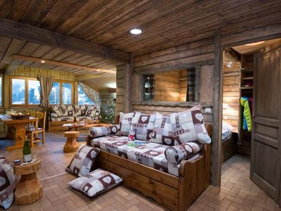 Photo for Large panoramic apartment fully equipped wifi ideal family near ski area