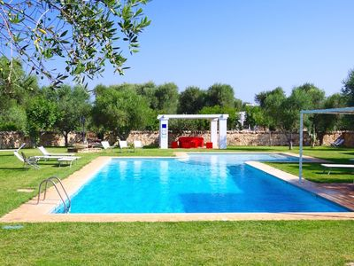 Photo for Authentic, charming property with antique trulli, holiday homes and pool