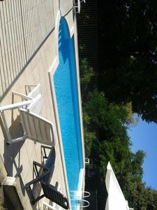 Photo for La Petite Anglade. Spacious 4 bedroom house, private  pool, huge garden.