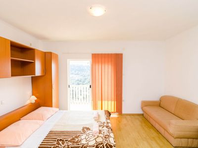 Photo for Lovely studio in Ropa, balcony, sea view!