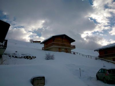 """Photo for Half chalet 6 people located at a place called """"Les Moulins""""."""